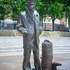 Statue of Navy Sailor at Navy Memorial