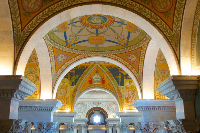 Ceiling of Library of Congress
