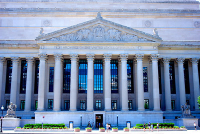 North Face of the National Archives