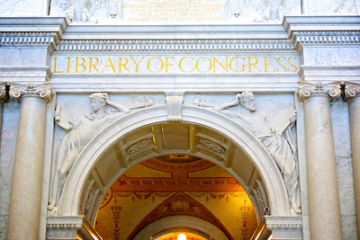 Archway of Library of Congress