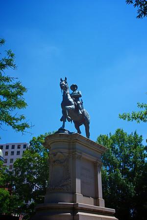 Winfield Scott Hancock Statue