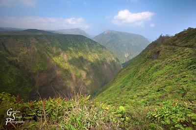 Hamakua Ditch Trail above Waipio Valley