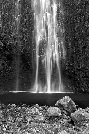 Hi'ilawe Waterfall Three Forks
