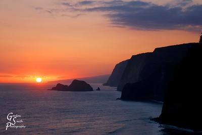 Sunrise Over the Big Island