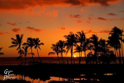 Sunset Last Moment