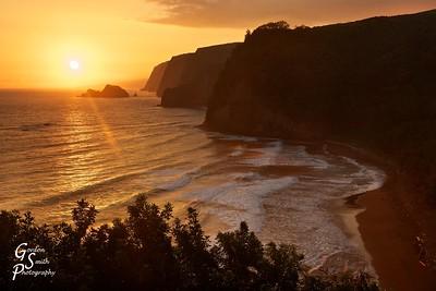 Pololu Valley Sunrise