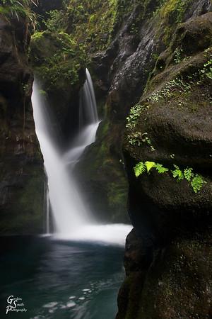 Secret Waterfall, Kauai