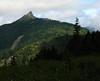 Finally a glimpse back to Sunrise Peak