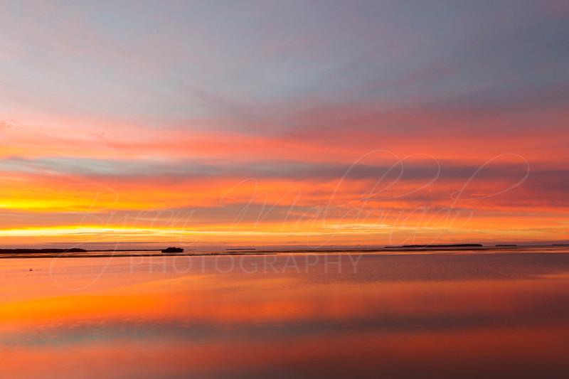 Sunrise at Flamingo Bay, Everglades National Park