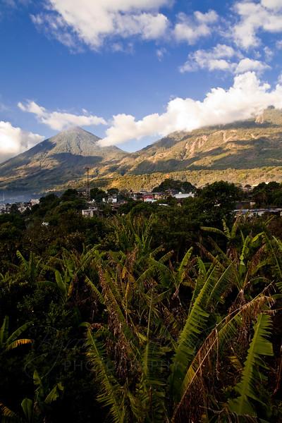 San Lucas Toliman, Guatemala Lake Atitlan - Volcano Atitlan and Toliman