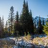 36  G Snowy Trail and Sun