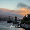 14  G Railroad Bridge Sunrise