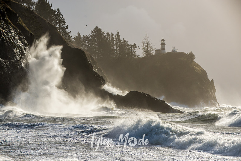 227 G Cape Disappointment Waves
