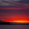 48  G Mount Hood Columbia River Sunrise