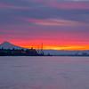 21  G Mount Hood Columbia River Sunrise