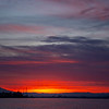 49  G Mount Hood Columbia River Sunrise Wide