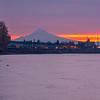 7  G Mount Hood Columbia River Sunrise