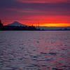 37  G Mount Hood Columbia River Sunrise V