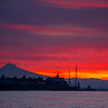 29  G Mount Hood Columbia River Sunrise Closer