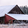 33  G Snowy Barn