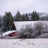 28  G Snowy Barn