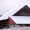 27  G Snowy Barn