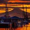10  G Mount Hood and Columbia River Sunrise