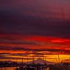 19  G Mount Hood and Columbia River Sunrise V