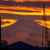 8  G Mount Hood and Columbia River Sunrise Close