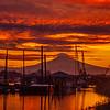 24  G Mount Hood and Columbia River Sunrise