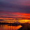 15  G Mount Hood and Columbia River Sunrise