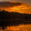20  G Sunrise Calm Water