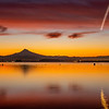 5  G Columbia River and Mount Hood Sunrise Plane