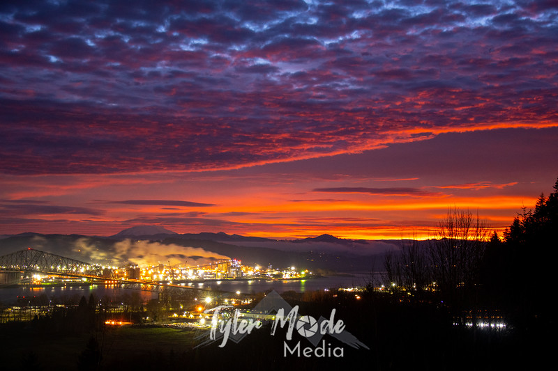 1  G Sunrise Over Kelso and MSH