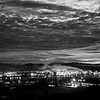 12  G Sunrise Over Kelso and MSH Wide BW