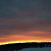 Ettermiddagshimmel over Vardåsen, Ås, 23 jan 2011