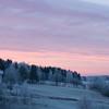 Hogstvedtdalen med typisk Ås-himmel
