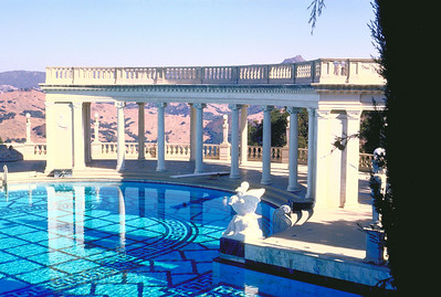 Pool at Hearst Castle, San Simeon, CA