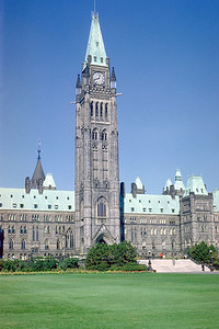 Canadian Parliament in Ottawa, Ontario