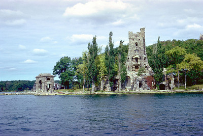 Boldt Castle in Thousand Islands region of St, Lawrence River