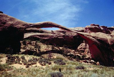 Landscape Arch in Arches National Monument