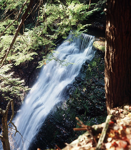 Main Waterfall on Little Mill Creek