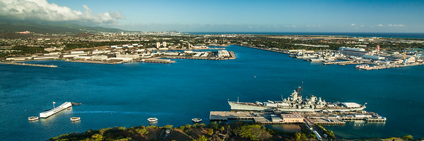 Arizona Memorial / Battleship Missouri