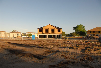 I'm sure the area directly accross from this home will eventually be filled with more townhouses.
