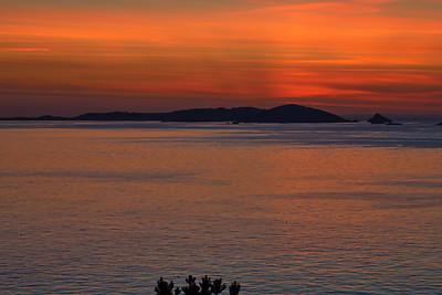 Guernsey. Jerborg, Sunrise