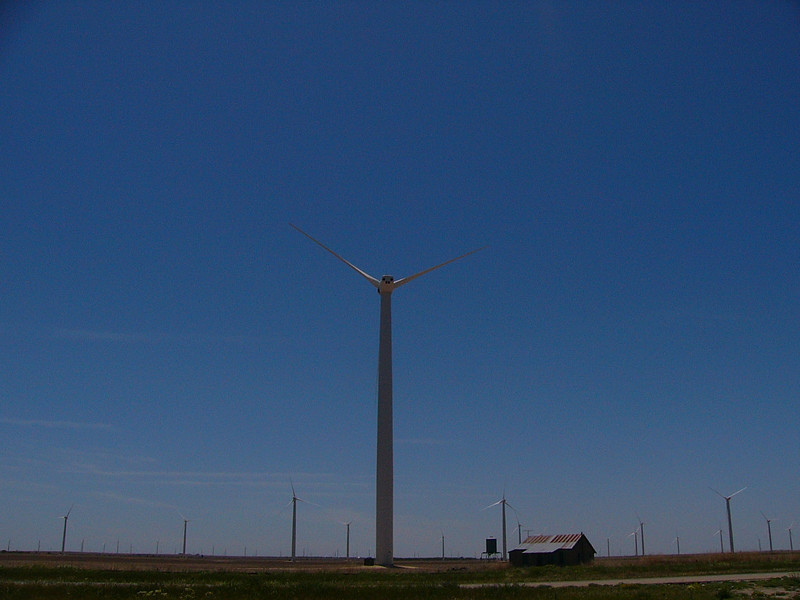 Wind Farm, West Texas, East of Abilene