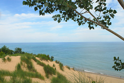 Mt Baldy near Michigan City, IN
