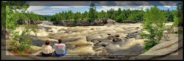 Cribworks Rapids, West Branch Penobscot River, Maine