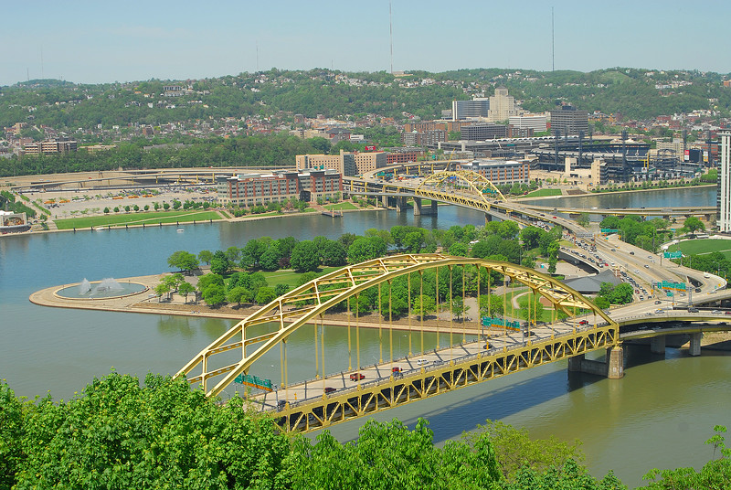 Golden Triangle in Pittsburgh, PA