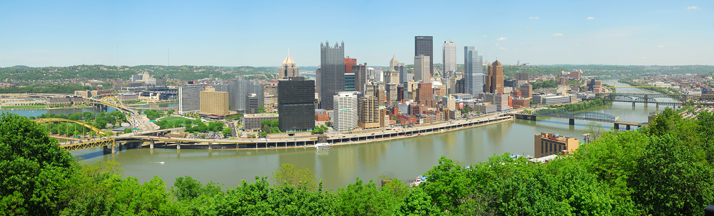 Pittsburgh skyline from Mt. Washington